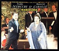 CD MAXI FREDDIE MERCURY (QUEEN) & MONTSERRAT CABALLE BARCELONA COMME NEUF 1987