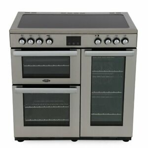 Belling Cookcentre 90E Professional Stainless Steel 90cm Range 444444072