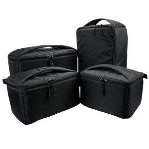 DSLR Camera Bag Insert Storage Backpack Case Partition For Canon Nikon Sony Lens