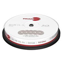 20 X PRIMEON BD-RE DL 50GB 2X Cake BluRay Ultra Protect + 1 CD Verbatim 2761315