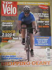 TOP VELO N°86: MAI 2004: TIME MEGEVE MONT BLANC - ALEXENDRE VINOKOUROV - CUBE