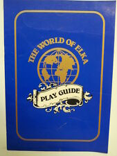 electronic keyboard THE WORLD OF ELKA play guide