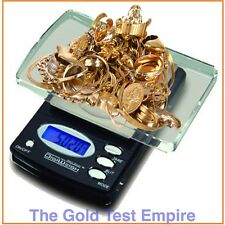 600 x 0.1g Troy Gold Silver Jewelry Scale Electronic Digital Grams Ounces CT DWT