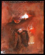 Miguel Nin 1997 Painting on Watercolor Paper.Cuban American Fine art.Unique