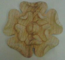 Yorkshire Rose made from hand carved pine wood,  #431