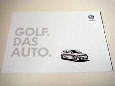 Volkswagen . Golf . Volkswagen Das Auto . October 2012 Sales Brochure