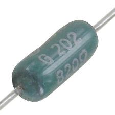 20 Stück WIDERSTAND 4W Draht 820Ω  axial 5% 13x 5,6 mm (LxØ) Neuware ohne RoHS