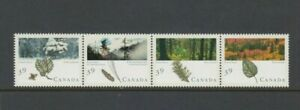 Canada 1990 CANADIAN FORESTS set of 4, Mint Never Hinged