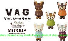 Medicom VAG Vinyl Artist Gacha Series 16 Hinatique Morris 2nd Mini Sofubi 5pcs