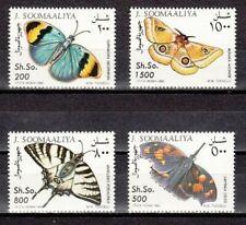 Somalia-Briefmarken mit Schmetterlings-Motiv