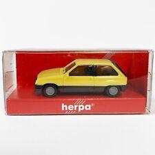 HERPA Opel Corsa 1:87 yellow gelb H0 SR GSi GTE