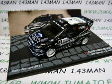 RIT17M 1/43 IXO Altaya Rallye  FORD Fiesta RS WRC Rally France 2011 J.M Latvala