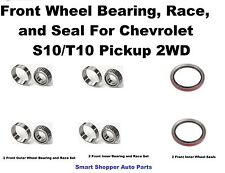 Front Wheel Bearing, Race, and Seal For 91-03 Chevrolet S10/T10 Pickup 2WD_pair
