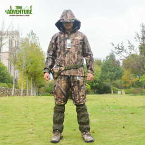 True Adventure Outdoor Bionic Camouflage Warm Breathable Hunting Suit Jkt+pants
