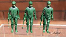 Vintage Dapol Ice Warrior figures Complete Original