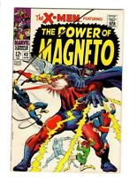 X-Men #43, FN/VF 7.0, Magneto, Quicksilver, Scarlet Witch, Cyclops, Marvel Girl
