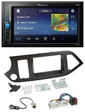 Pioneer 2DIN MP3 USB AUX Autoradio für Kia Picanto ab 11 ohne Start-Stop