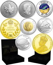 2018 State-of-the-Art 4-Coins Set RCM: Numismatics, Bullion, Foreign, Canadian