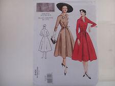 Vogue 2401 V2401, Vintage Model, Original 1952 Design, Misses' Dress Sz 12-16