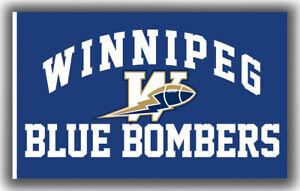 Winnipeg Blue Bombers Football Team Fan Memorable Flag 90x150cm3x5ft Best Banner
