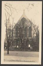 Postcard Highgate London the Congregational Church 1925 RP by Johns
