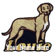 Rhodesian Ridgeback Dog Custom Iron-on Patch Personalized
