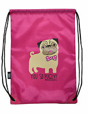David e golaith-lei così Pugly Nylon Coulisse Palestra / Boot Bag-FUCSIA