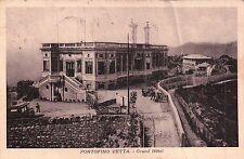 CARTOLINA DI PORTOFINO VETTA - 1926 - GRAND HOTEL -  GENOVA    C5-61