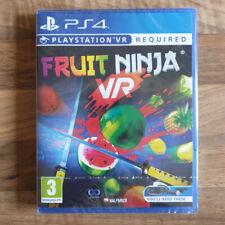 PS4 Fruit Ninja VR - New & Sealed - RARE