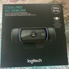 Logitech 960-001251 C920s Pro HD 1080p Webcam with Privacy Shutter