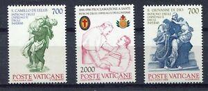S25526) Dealer Stock Vatican 1986 Health Saints 3v (X10 Sets)