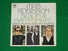 SIMON & GARFUNKEL Mrs Robinson FOLK ROCK POP EP 1968