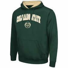NEW NCAA Campus Heritage Colorado State Rams Bronco II Pullover Hoodie 2XL Green