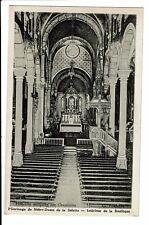 CPA - Carte postale - France -Notre Dame de la Salette-Intérieur de la Basilique