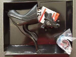 Campagnolo Super Record H11 11 Speed Front & Rear Shifters, Disc Brake Callipers