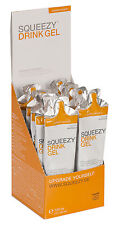 Squeezy Drink Gel Box 12x60ml Beutel Himbeere