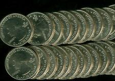 2019-W RIVER NO RETURN QUARTER HALF ROLL OF 20 COINS GEM BU Rare *