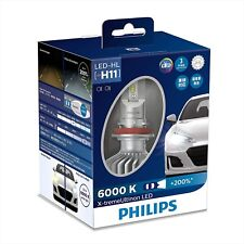 PHILIPS LED Headlight Bulb H11 6000K 1350lm 12V 22W X-treme Ultinon 11362XUX2