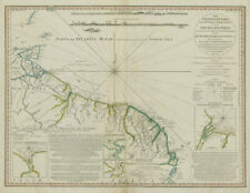 The coast of Guyana from the Oroonoko... THOMPSON/ DELAROCHETTE / FADEN 1783 map