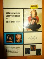 Colorentwickeln Colorvergrössern Tetenal-Color Antik Günter Spitzing Taschenbuch
