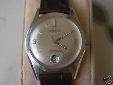 Nice Vintage BENRUS 10K RGP 39J Automatic Men's Watch w/Date