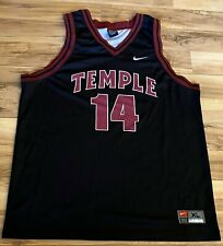 Nike Temple University Owls #14 College Basketball Jersey Lightweight - Men's XL