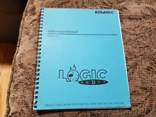 Emagic - Logic Audio for Apple Mac and Atari - Addendum Manual Version 2.0
