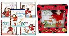 LADYBUG GIRL Book & Doll PLUS 4 BBs Loves,Makes Friends,Dresses Up, Feels Happy