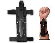Coltello AIRBORNE con fodero da Braccio o Cintura in Acciaio INOX Caccia Militar