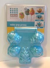 NIP-Sweet Creations by Good Cook Easter Cake Pop Mold 5 Cavity Press-Bunny/Eggs