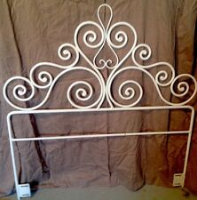 bedroom wrought iron bed headboards  footboards  ebay, Headboard designs