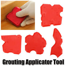 4Pcs Grouting Sealant Silicone Profiling Applicator Tool Kit Grout Smooth Set