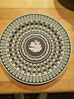 MUSEUM SERIES Wedgwood Tricolor JASPERWARE AURORA William Hackwood Plate MINT!!!