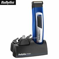 NEW BaByliss for Men 7057CU Professional 6-in-1 Grooming Shaving Trimmer Kit Set